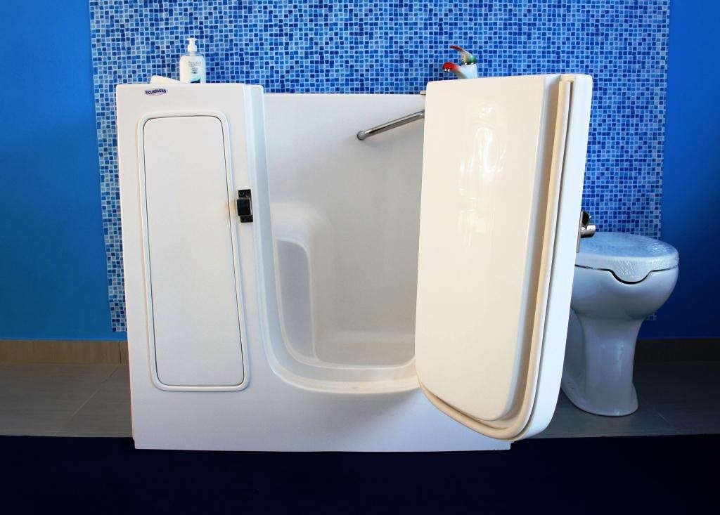 Vasca Da Bagno Per Disabili Dimensioni : Vasca da bagno con sportello roma